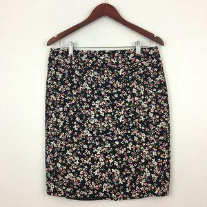 2/$20 Liz Claiborne Career Floral Pencil Skirt